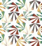 Naadloze kleurrijke strepen Geometrisch patroon Geschikt voor textiel, stof en verpakking Royalty-vrije Stock Fotografie