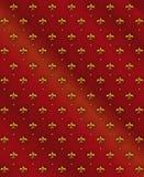 Naadloze Koninklijke lelieachtergrond Royalty-vrije Stock Fotografie