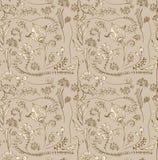 Naadloze krabbel tedere bloemenachtergrond Royalty-vrije Stock Afbeeldingen