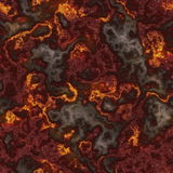Naadloze Lava royalty-vrije illustratie