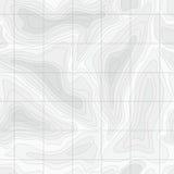 Naadloze Lichte topografische kaart Stock Afbeelding