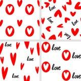 Naadloze liefdes Stock Fotografie
