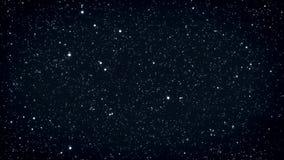 Naadloze lijn van fonkelende sterren royalty-vrije illustratie