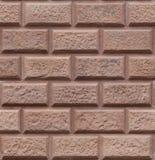 Naadloze Middeleeuwse bakstenen muur Stock Foto's