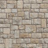 Naadloze Middeleeuwse bakstenen muur royalty-vrije stock afbeeldingen