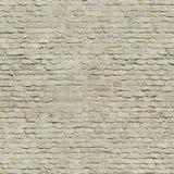Naadloze Middeleeuwse bakstenen muur royalty-vrije stock foto