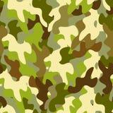 Naadloze Militaire patroon beschermende kleuring Stock Afbeeldingen