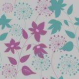Naadloze mooie bloementeksturas Stock Foto's