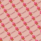 Naadloze muffins Stock Foto