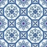 Naadloze oosterse patroonachtergrond Royalty-vrije Stock Afbeelding