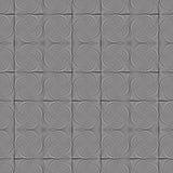Naadloze Op Art Twist Tiles Royalty-vrije Stock Afbeelding