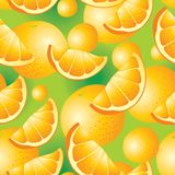 Naadloze oranje achtergrond Stock Foto's