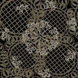 Naadloze ornamenttextiel Royalty-vrije Stock Afbeelding