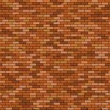 Naadloze Oude bakstenen muurachtergrond met vignet royalty-vrije illustratie