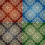 Naadloze patronen Stock Afbeelding
