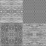Naadloze patronen Stock Afbeeldingen