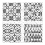 Naadloze patronen Royalty-vrije Stock Afbeeldingen
