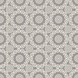 Naadloze patronen met cirkels Royalty-vrije Stock Afbeelding