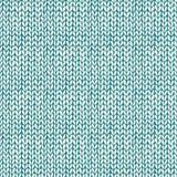 Naadloze patronen met gebreide textuur Stock Foto