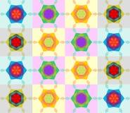 Naadloze patronen met kleurrijke textuur Royalty-vrije Stock Afbeelding