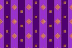 Naadloze patronen met samenvatting geschilderde vierkanten Royalty-vrije Stock Afbeelding