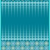 Naadloze patronen met samenvatting geschilderde vierkanten Stock Foto's