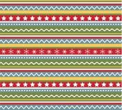Naadloze patronen met stof, Kerstmistextuur vector illustratie