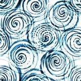 Naadloze patroon abstracte rozen Royalty-vrije Stock Fotografie