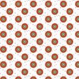 Naadloze patroon decoratieve elementen Stock Foto's