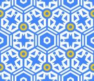 Naadloze patroon geometrische textuur Royalty-vrije Stock Foto