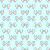 Naadloze patroon Oceaanvlinders royalty-vrije stock afbeelding