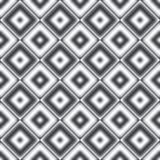 Naadloze patroon van de diamant het grijze kleur Royalty-vrije Stock Afbeelding
