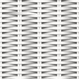 Naadloze patroon van de riet het vlak geweven witte vezel stock illustratie