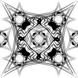 Naadloze patroon vectorillustratie Stock Foto