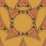 Naadloze patroon vectorillustratie Royalty-vrije Stock Afbeelding