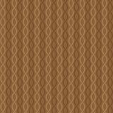 Naadloze patroon witte golven Stock Afbeeldingen
