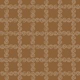 Naadloze patroon witte tierelantijntjes Royalty-vrije Stock Afbeelding