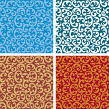 Naadloze patroonachtergrond Stock Foto