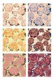 Naadloze patroonachtergrond Royalty-vrije Stock Foto