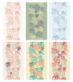 Naadloze patroonachtergrond Stock Foto's