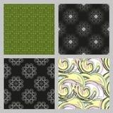 Naadloze patroonachtergrond De elegante luxetextuur voor behang, de achtergronden en de pagina vullen Royalty-vrije Stock Afbeeldingen