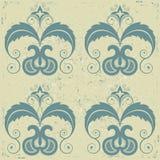 Naadloze patroonachtergrond. Royalty-vrije Stock Afbeelding