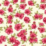 Naadloze patroonbloemen Cherry Blossom Stock Afbeeldingen