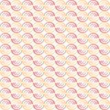 Naadloze patrooncirkel Stock Afbeeldingen