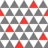 Naadloze patroondriehoek als achtergrond Royalty-vrije Stock Afbeelding