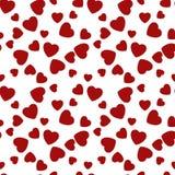 Naadloze patroonharten Gelukkige valentijnskaartendag Vector Vector Illustratie