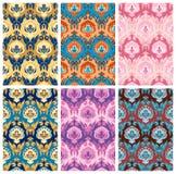 Naadloze patrooninzameling Stock Foto