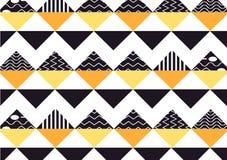 Naadloze patroontegel Uitstekende decoratieve elementen kleurrijke achtergrond Perfectioneer voor druk op stof, affiche of docume stock illustratie