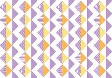 Naadloze patroontegel Uitstekende decoratieve elementen kleurrijke achtergrond Perfectioneer voor druk op stof, affiche of docume royalty-vrije illustratie