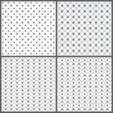 Naadloze pattern_set01 Royalty-vrije Stock Afbeeldingen